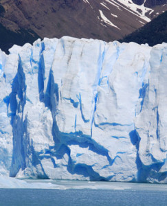 Melting glaciers the cause of rising seas