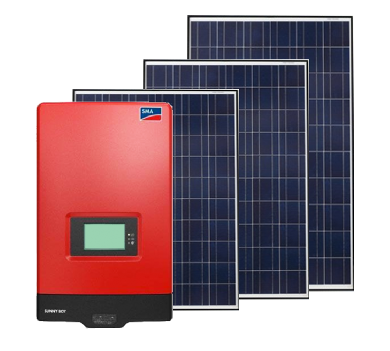 Solar Kit 1 3kw Grid Tied System Produces 16 5kwh