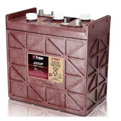 Trojan J250P 250Ah 6v Battery Image