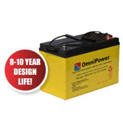 Omnipower 260Ah 12v Gel-AGM Battery Image