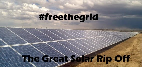 The Great Solar Ripoff